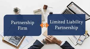 difference between limited liability and partnership